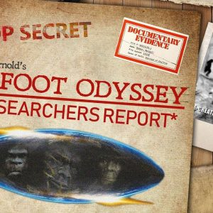 """""""RR #2 Guest Andy McGrath/ Beasts of Britain with hosts Bigfoot Tony & Daniela Agliolo"""