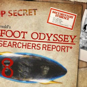 RR#78 Bigfoot encounter and sightings witness Roy MIller joins Kerry & Daniela