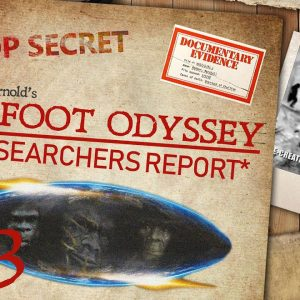 RR#73 Hiking With Sasquatch Outlaw's Tracy Arnold talks bigfoot with Kerry & Daniela