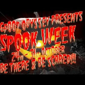 SPOOKWEEK! Night#4 Dixie Cryptid & Kat Ward share some spookiness with Kerry & Daniela