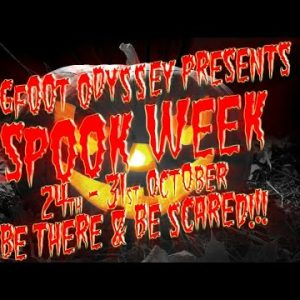 SPOOKWEEK! Night #1 Javier- Cryptid559 talks haunted houses &  the paranormal with Kerry & Daniela