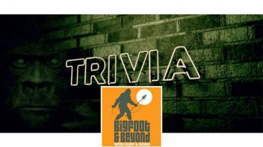 Bigfoot Trivia with Cliff and Bobo