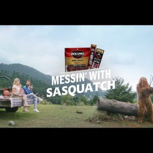 Jack Links Messin' With Sasquatch - Bubbly Commercial