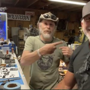 Russell Acord of Expedition Bigfoot TV series stops by the KX shop.
