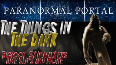 The THINGS IN THE DARK - Bigfoot, Skinwalkers, Time slips and MORE